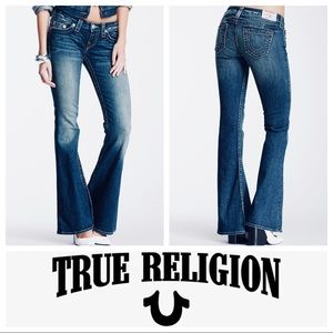 🔥True Religion Carrie Flared Jeans SZ 27
